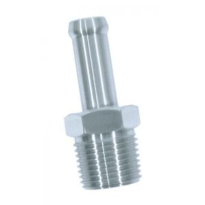 """Performance Stainless Steel 3/8"""" Hose Fitting - 3/8"""" NPT"""