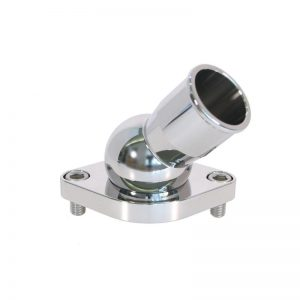 Performance Stainless Steel 45 degree Swivel Water Outlet - Chevy Small/Big Block