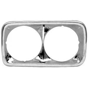 Chrome Headlight Bezels - 69-72 GMC Pickup