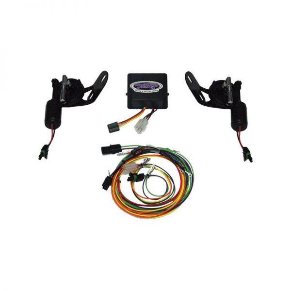 Detroit Speed Electric RS Headlight Door Kit - 68-69 Camaro 1
