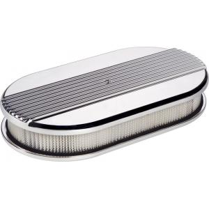 Billet Specialties Ribbed Oval Air Cleaner