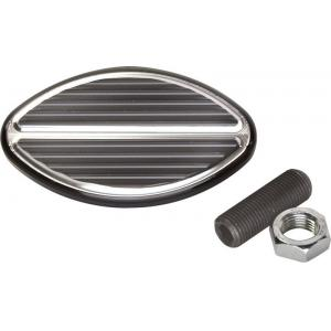 Billet Specialties Oval Brake or Clutch Pedal Pad