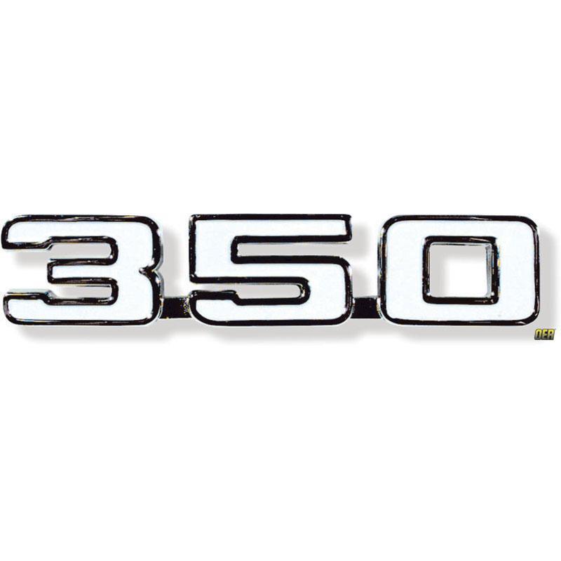 Front Fender Emblem - 69 Camaro w/ 350