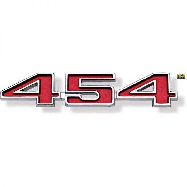 Front Fender Emblem - 70-72 Chevelle w/ 454 1