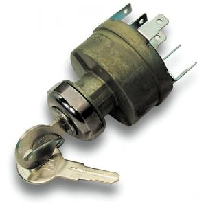 Universal Ignition Switch w/ Blade Terminals