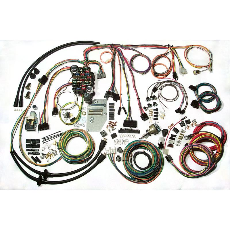 American Autowire Classic Update Series Harness - 55-56 Chevy Fullsize