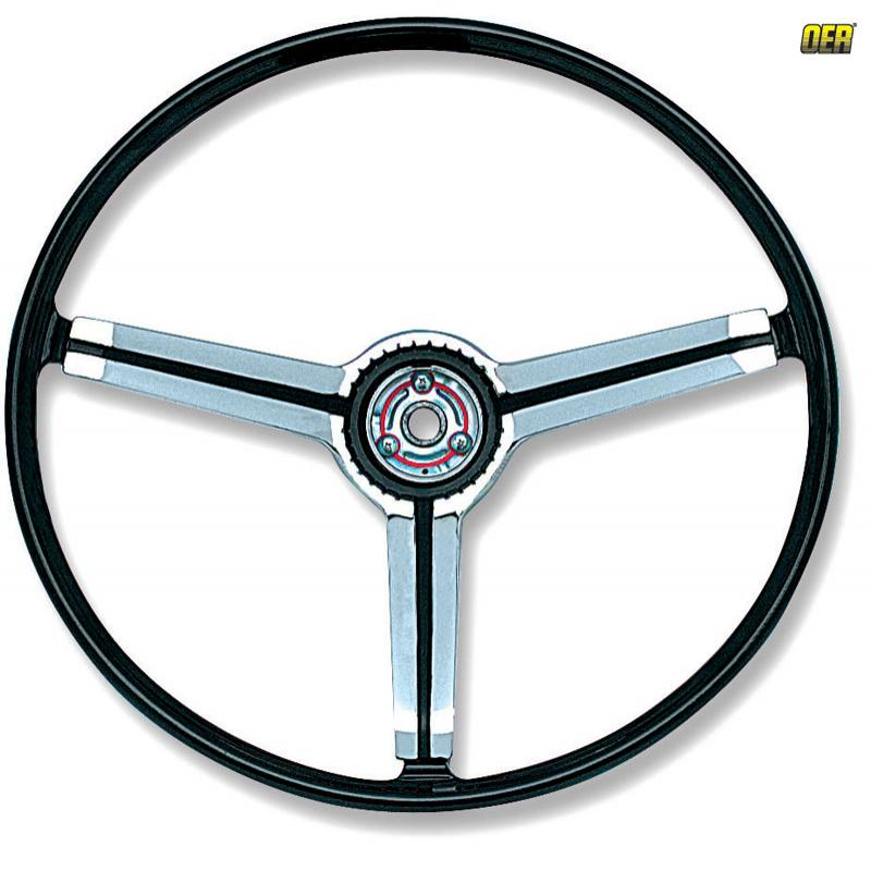 Deluxe Steering Wheel - 63-67 Nova