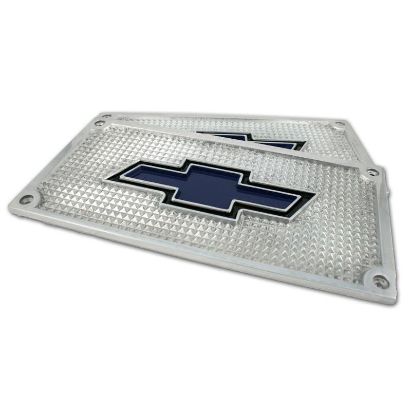 Bowtie Aluminum Running Board Step Plates 1