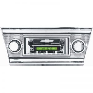 Custom Autosound Radio - 66-67 Chevelle