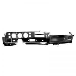 Dash Gauge Bezel Assembly - 68-72 Chevelle