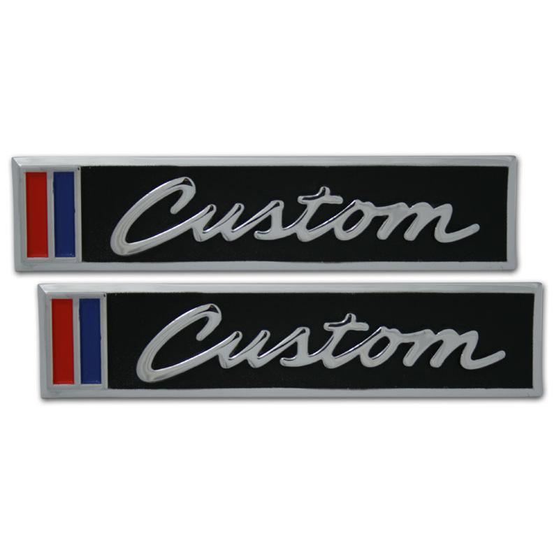 Door Emblems - Custom - 67-72 Chevy Pickup