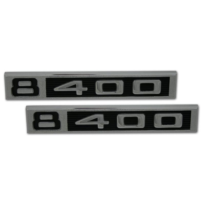 Front Fender Emblems - '400' - 67-72 Chevy Pickup