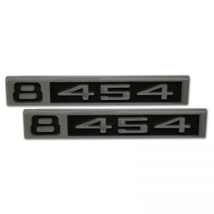 Front Fender Emblems - '454' - 67-72 Chevy Pickup
