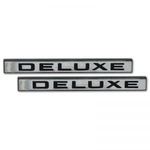 Front Fender Emblems - 'Deluxe' - 67-72 Chevy Pickup