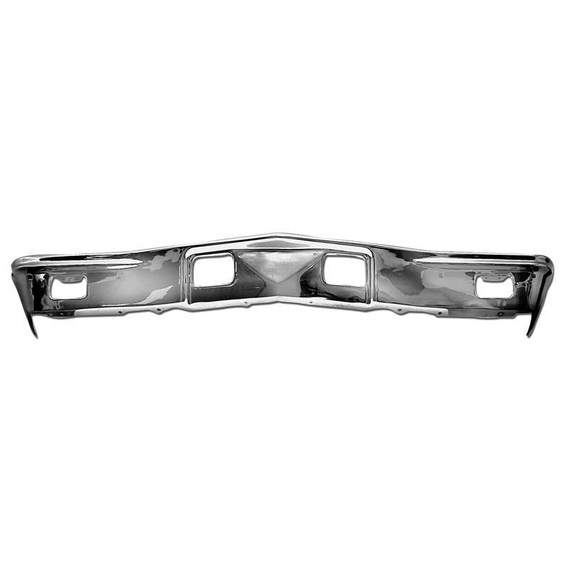 Chrome Front Bumper - 68 Chevelle & El Camino
