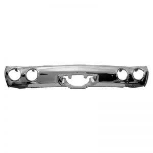 Chrome Rear Bumper - 71-72 Chevelle