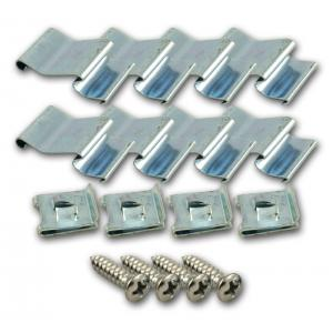 Door Garnish Molding Fastener Set - 55-59 Chevy Pickup