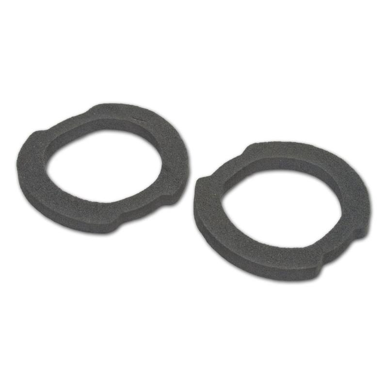 Back-Up Light Lens Gaskets - Fleetside - Pair - 60-66 Chevy Pickup 1