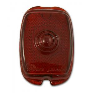 Tail Light Lens - Glass - 37-52 Chevy Fullsize, 40-53 Chevy & GMC Pickup