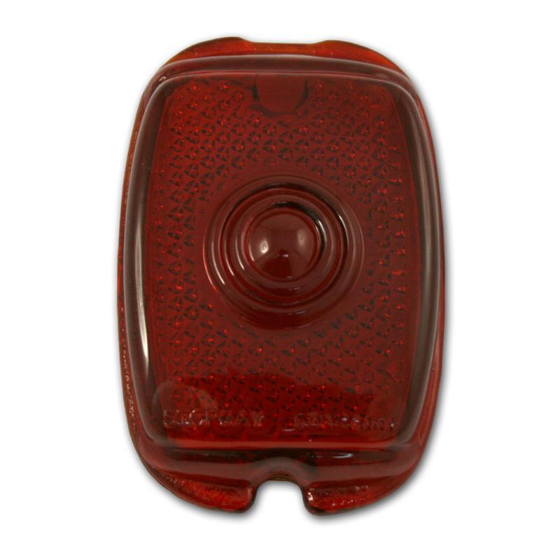 Tail Light Lens - Glass - 37-52 Chevy Fullsize, 40-53 Chevy & GMC Pickup