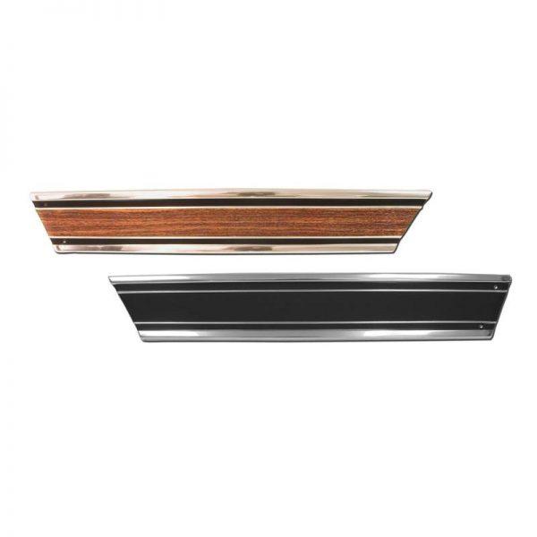 Lower Rear Fleetside Bed Molding - 69-72 Chevy Pickup 1