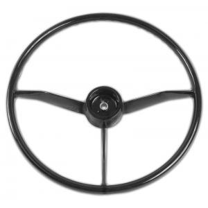 Steering Wheel - Black - 55-59 Chevy Pickup
