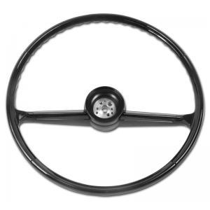 Steering Wheel - Black - 60-66 Chevy Pickup