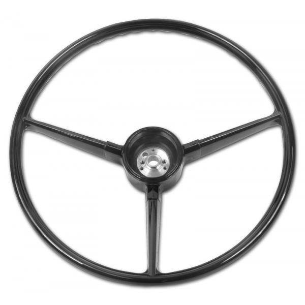 Steering Wheel - Black - 67-72 Chevy Pickup 1