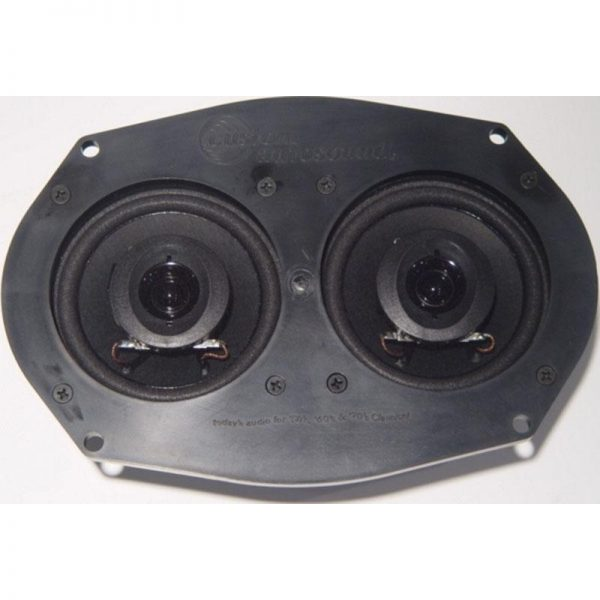 Dual Front Speakers - 55-60 Chevy Fullsize 1