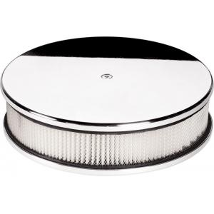 "Billet Specialties 10"" Round Air Cleaner - Plain"