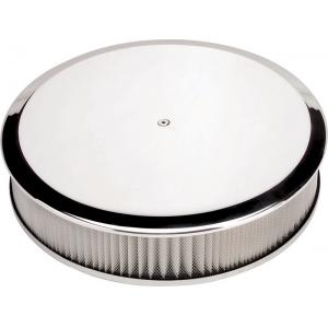 "Billet Specialties 14"" Round Air Cleaner - Plain"