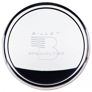 Billet Specialties Small Horn Button with Logo