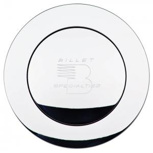 Billet Specialties Large Horn Button with Logo