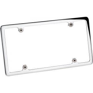Billet Specialties Recessed License Plate Frame - Plain