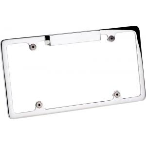 Billet Specialties Recessed Lighted License Plate Frame - Plain