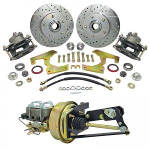 Front 5-Lug Disc Brake Conversion Kit - 55-59 Chevy & GMC Pickup