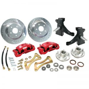 CPP Big Brake Kit w/ Drop Spindles - 60-72 Chevy Pickup