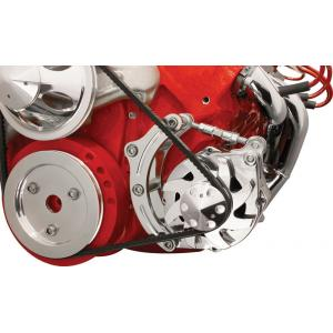 Billet Specialties Low Mount Alternator Bracket