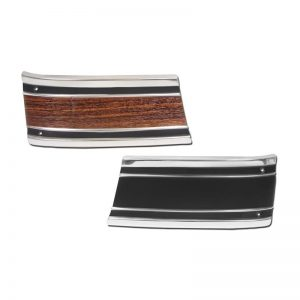 Front Fender Lower Front Molding - 69-72 Chevy Pickup