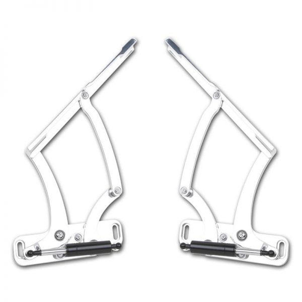 Fesler Billet Hood Hinges - 65-67 Chevelle 1