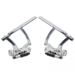 Fesler Billet Hood Hinges - 68-72 Chevelle